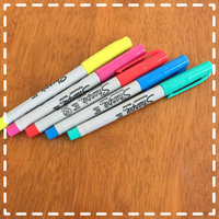 Sharpie(R) Color Burst Permanent Markers, Ultra-Fine Point, Assorted Colors, Pack Of 5 uploaded by Ingrid M.