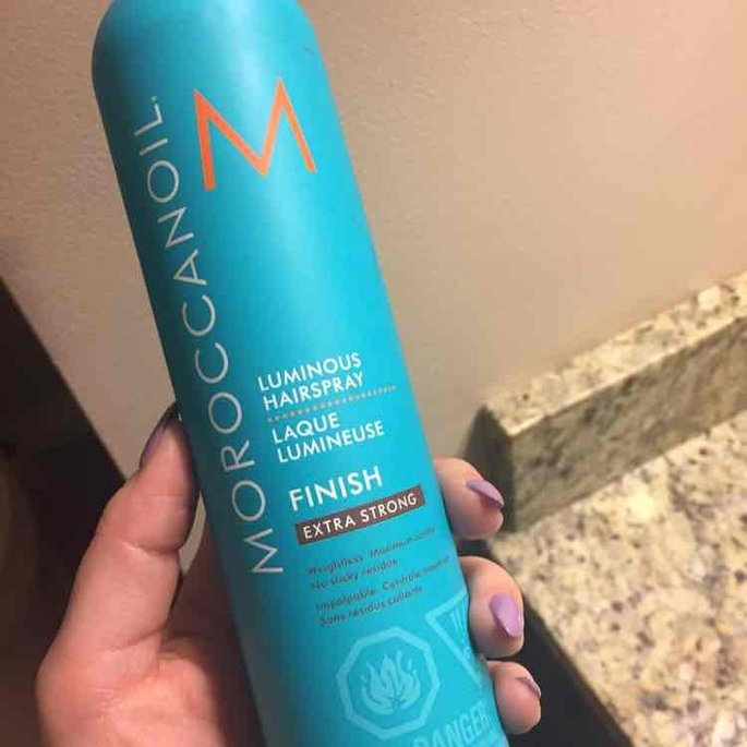 Moroccanoil Luminous Hair Spray Extra Strong 10oz/330ml uploaded by Vanessa T.