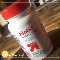 up & up Biotin Grape 10,000 mcg Tablets For Energy Metabolism - 60 Count uploaded by Mary M.