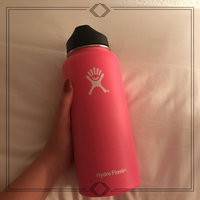Hydro Flask Insulated Wide Mouth Stainless Steel Water Bottle, 32-Ounce [] uploaded by Sidney G.
