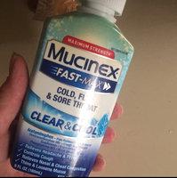 Mucinex® Fast-Max® Clear & Cool™ Maximum Strength Cold, Flu & Sore Throat 6 fl. oz. Plastic Bottle uploaded by Amieé S.