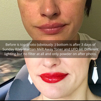 Photo of Sunday Riley U.F.O. Ultra-Clarifying Face Oil uploaded by Hayley B.
