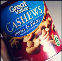 Great Value Cashews Halves & Pieces, 12 oz uploaded by Megan J.