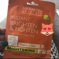 Andalou Naturals Instant Brighten & Tighten Hydro Serum Facial Mask, 0.6 Oz uploaded by Shantal N.