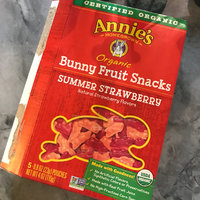 Annie's® Homegrown Summer Strawberry Organic Bunny Fruit  Snacks uploaded by Suzanne M.