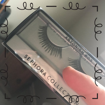 Photo of SEPHORA COLLECTION False Eye Lashes Astonish #03 - natural volume uploaded by Carolina K.