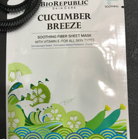 BioRepublic Cucumber Breeze Soothing Fiber Mask uploaded by Gladys D.