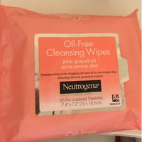 Neutrogena® Oil-Free Cleansing Wipes-Pink Grapefruit uploaded by 🌻Claire E.