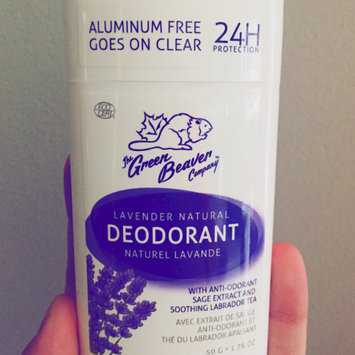 Photo of Green Beaver Natural Deodorant Lavender - 1.76 oz uploaded by Laura M.
