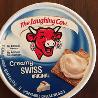 The Laughing Cow Creamy Swiss Original Spreadable Cheese Wedges - 8 CT uploaded by Jill R.