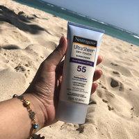 Neutrogena® Ultra Sheer® Dry-Touch Sunscreen Broad Spectrum SPF 55 uploaded by Darlene E.