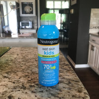 Neutrogena® Wet Skin Kids Sunscreen Spray Broad Spectrum SPF 70+ uploaded by Nikki N.