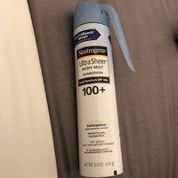 Neutrogena® Ultra Sheer® Body Mist Sunscreen Broad Spectrum SPF 100+ uploaded by Jennifer M.