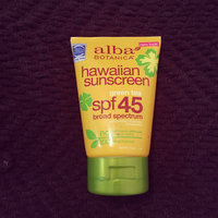 Alba Botanica Hawaiian Natural Sunscreen with Green Tea uploaded by april n.
