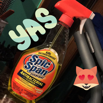 Photo of Spic and Span Everyday Lemon Scent Antibacterial Cleaner, 22 fl oz uploaded by Emily M.