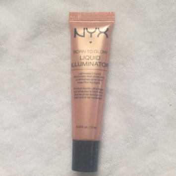 NYX Cosmetics Born to Glow Liquid Illuminator uploaded by Lizzette G.