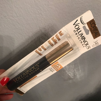 Photo of L'Oréal Paris Voluminous® Mascara Curved Brush uploaded by Jadiena D.