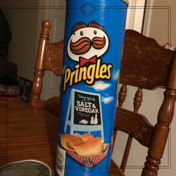 Photo of Pringles® Salt & Vinegar Potato Crisps uploaded by Megan F.