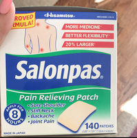 Salonpas Pain Relieving Patch - 140 Patches uploaded by Carina K.
