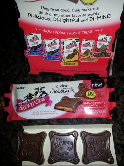 Skinny Cow Divine Caramel Filled Chocolates uploaded by Trina T.