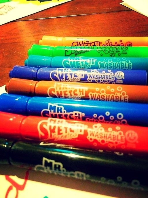 Mr. Sketch Scented Washable Markers uploaded by Amy S.