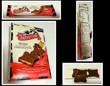 Skinny Cow Divine Caramel Filled Chocolates uploaded by Sherrie K.