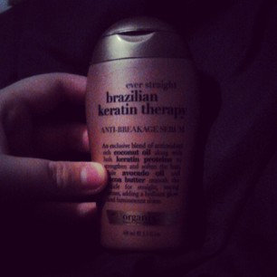 OGX® Ever Straight Brazilian Keratin Therapy Anti-Breakage Serum uploaded by Abby N.