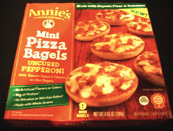 Annie's Pizza Poppers & Mini Pizza Bagels uploaded by Jay A.
