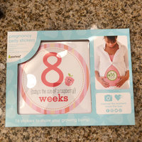 Stepping Stones Baby's First Year Belly Stickers (Girl) uploaded by Rachel S.