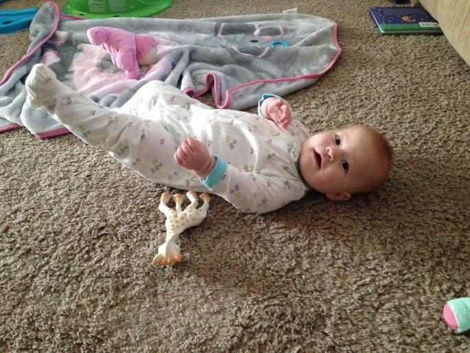 Vulli Sophie the Giraffe Teether uploaded by Mona J.
