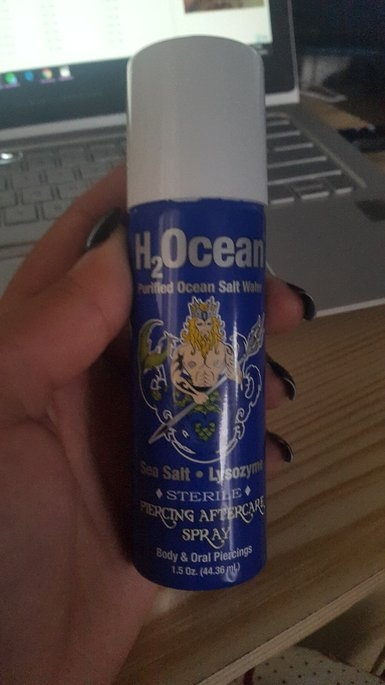 H20cean Tattoo and Piercing Aftercare  uploaded by haddiqa h.