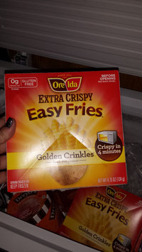 Photo of Ore-Ida Easy Fries Extra Crispy Golden Crinkles French Fried Potatoes uploaded by Brandy D.