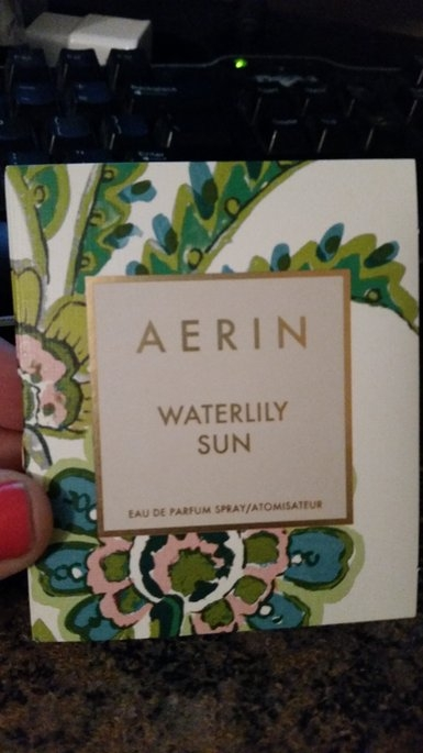 Waterlily Sun Eau de Parfum, 1.7 oz. - AERIN Beauty uploaded by TheProductReview M.