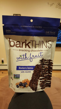 Photo of Bark Thins Snacking Chocolate Blueberry Quinoa with Agave uploaded by Kimberly M.