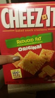 Sunshine Cheez-it Baked Snack Crackers Family Size Reduced Fat uploaded by Lia R.
