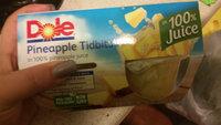 Dole Pineapple Tidbits In 100% Pineapple Juice uploaded by Lia R.