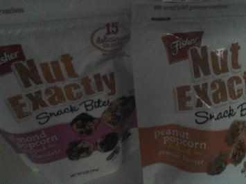 FISHER NUT EXACTLY® Snack Bites - Almond Popcorn dipped in Milk Chocolate uploaded by Susan C.