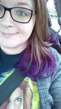 Photo of Jerome Russell Plum Semi-Permanent Punky Colour uploaded by Rebecca P.