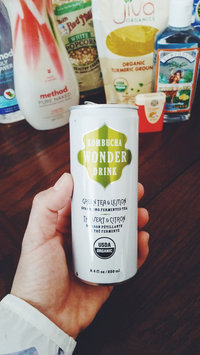 Photo of Kombucha Wonder Drink, Green Tea and Lemon Fermented Tea, 8.4oz Can (Pack of 24) uploaded by Angela M.