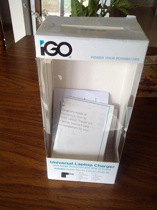 iGo 90W Universal Laptop Charger uploaded by kathygraves