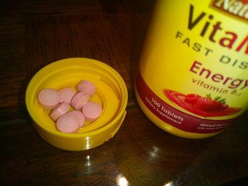 Nature Made Vitamelts Energy Tablets, Mixed Berry, 100 Count (2 Pack) uploaded by Charnita F.