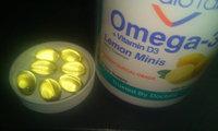 CardioTabs® Omega-3 + Vitamin D3 Lemon Minis Dietary Supplement Softgels uploaded by Charnita F.