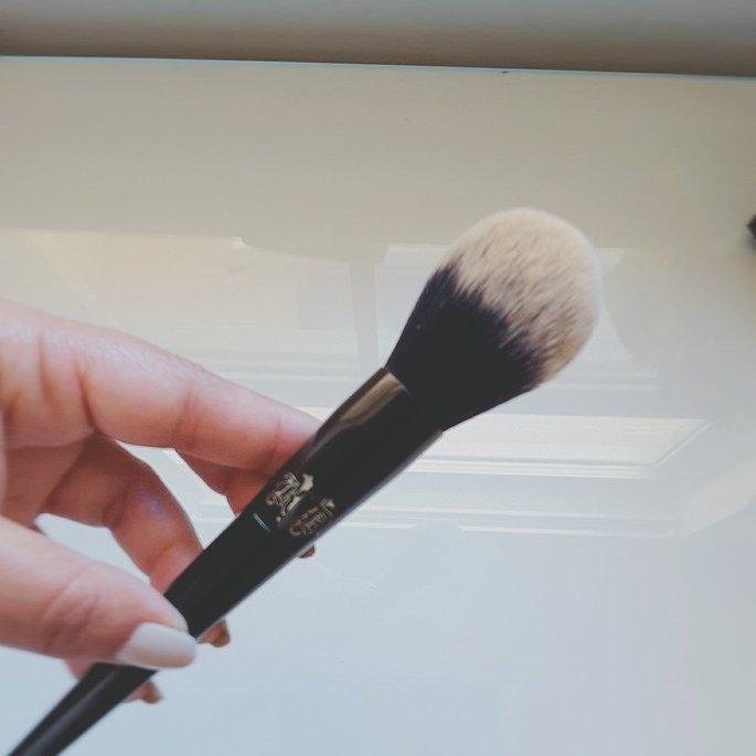 Kat Von D Lock-It Precision Powder Brush uploaded by Stacy C.