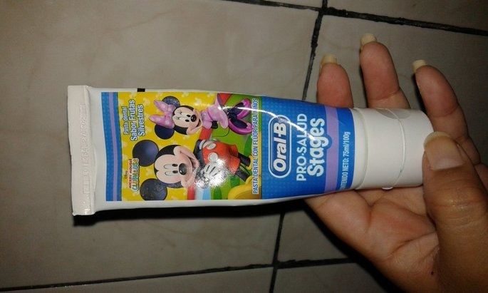 Oral-B Crest Pro-Health Stages Disney Cars Kid's Toothpaste 4.2 Oz uploaded by Seharay G.