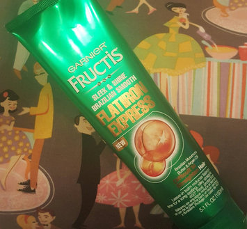 Photo of Garnier® Fructis® Sleek & Shine Brazilian Smooth Flatiron Express Leave-In Balm 5.1 fl. oz. Tube uploaded by Angelique D.