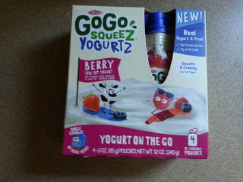 Photo of GoGo SQUEEZ APPLE STRAWBERRY APPLESAUCE ON THE GO uploaded by Brianne C.