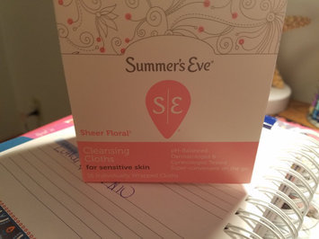 Photo of Summer's Eve Island Splash Cleansing Cloths for Sensitive Skin - 16 CT uploaded by Kelly H.