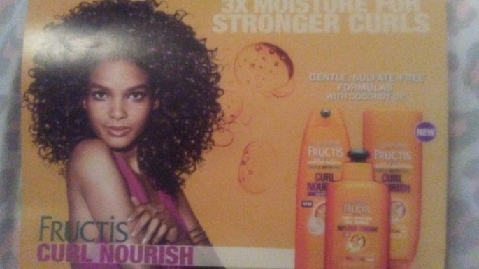 Garnier Fructis Triple Nutrition Curl Nourish Shampoo uploaded by Shantell A.