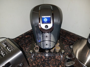 Photo of Keurig - 2.0 K550 4-cup Coffeemaker - Black/dark Gray uploaded by Maurice R.