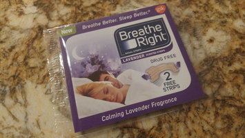 Breathe Right Lavender Scented Nasal Strips uploaded by Sara B.